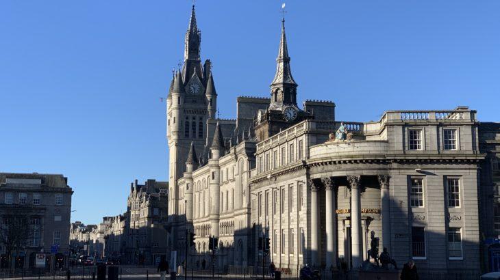 アバディーン(Aberdeen)スコットランドの神戸??