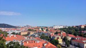 プラハ城の景色